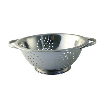 Stainless Steel Collection Twin Handled Stainless Steel Colander, 23 cm by