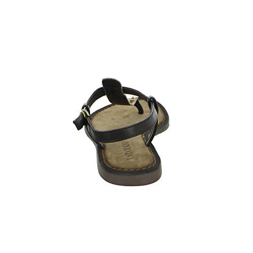 Lazamani 75214/1 Damen Sandalette bis 30mm Absatz Schwarz (Schwarz)