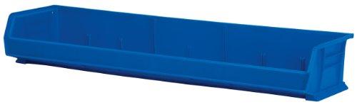 akro-mils-von 84cm, 12,7cm Breite Kunststoff Aufbewahrung Stapeln akrobin, Fall von 4, 30320BLUE