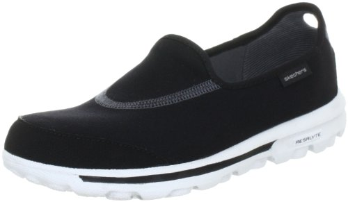 skechers-go-walk-damen-slipper-schwarz-bkw-40-eu