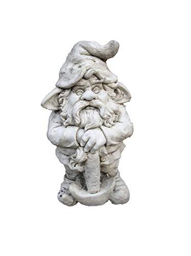 Axt Gnome Garden Ornament. Kunststein. Superb Details.