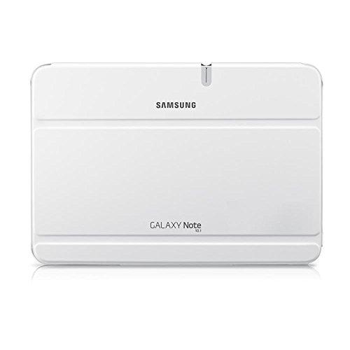 Samsung EFC-1G2NWECSTD Book Cover per Galaxy Note 10.1, Bianco