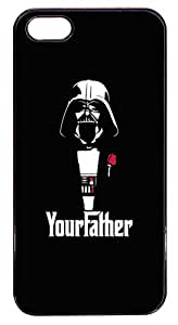 Coque Iphone 5/5S - Dessin illustration vador style parrain godfather - Ref 214