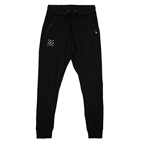 Slim Pants Krap - Nero Nero