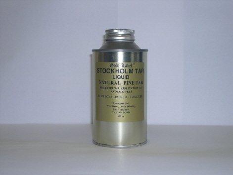 Gold Label Stockholm catrame liquido antibatterico, 500 ml, un anti-fughi naturale e catrame di legno