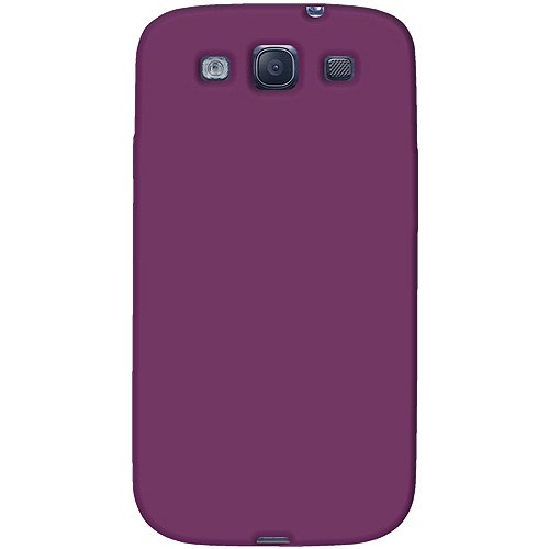 Amzer AMZ93953 Skin Jelly Case for Samsung Galaxy S3 Neo and S III GT-I9300 (Purple)  available at amazon for Rs.224