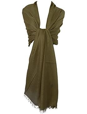 GFM - Chal extra grande para mujer, vestimenta elegante
