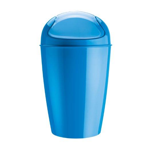 Koziol Del - Papelera (tamaño XL), color azul