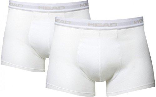 HEAD Herren Boxer Boxershort Unterhose 6er Pack in vielen Farben Weiß