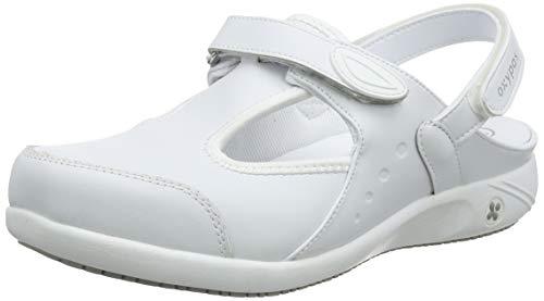 Oxypas Move Carin Slip-resistant, Antistatic Nursing Shoes, White (Wht) , 8 UK (EU: 42)