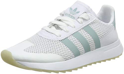 on sale df210 3a1d5 adidas FLB W, Zapatillas de Deporte para Mujer, Blanco (Ftwbla Vertac