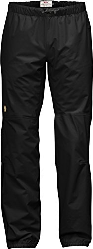 Fjällräven Herren Abisko Eco-Shell Trousers Shellhose, Black, XL