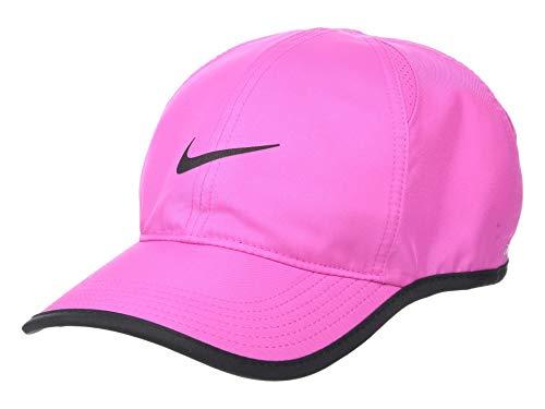 Nike u nk arobill fthrlt, cappellino unisex - adulto, active fuchsia/black, taglia unica