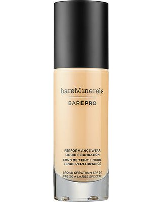 Liquid Mineral Foundation (baremineral BarePro Performance Wear Liquid Foundation SPF20 30ml Aspen 04)