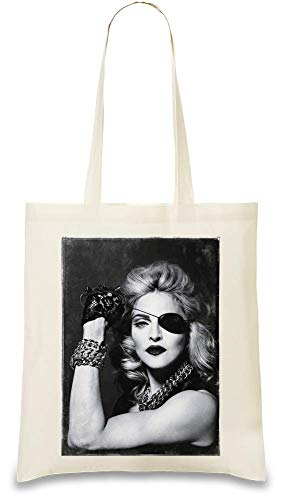 e Pirat Looks Like Pirate Custom Printed Tote Bag| 100% Soft Cotton| Natural Color & Eco-Friendly| Unique, Re-Usable & Stylish Handbag For Every Day Use| Custom Shoulder ()