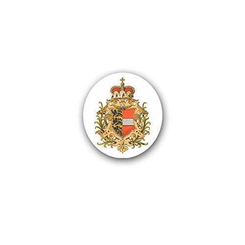 Aufkleber / Sticker -Herzogtum Kärnten Österreich Königreich Herzog Monarchie Löwen Mödlinger Wappen Abzeichen 6x7cm #A3218 (Löwen Auto Aufkleber)