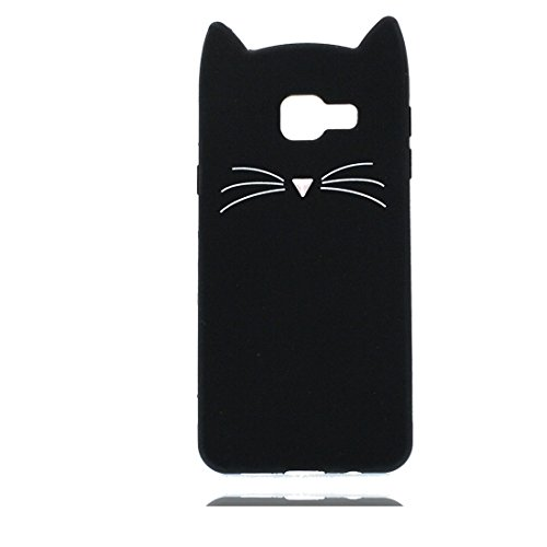 a179f0bff78 Samsung Galaxy A5 2016 Carcasa,Samsung Galaxy A5 2016 funda,3D Cartoon gato  cat