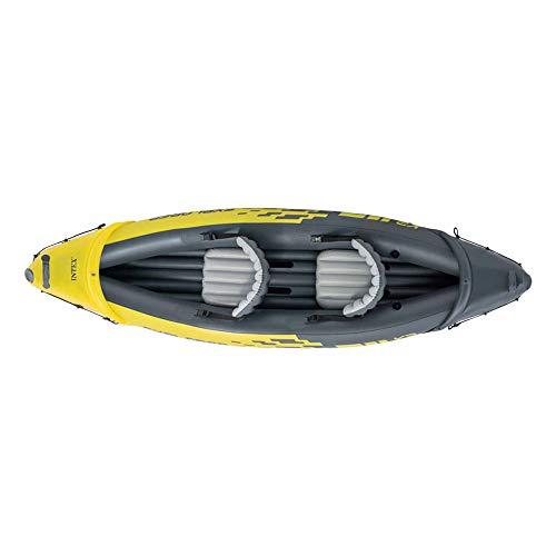 31an5DvbdAL. SS500  - Intex Explorer K2 Kayak, 2-Person Inflatable Kayak Set with Aluminum Oars and High Output Air Pump