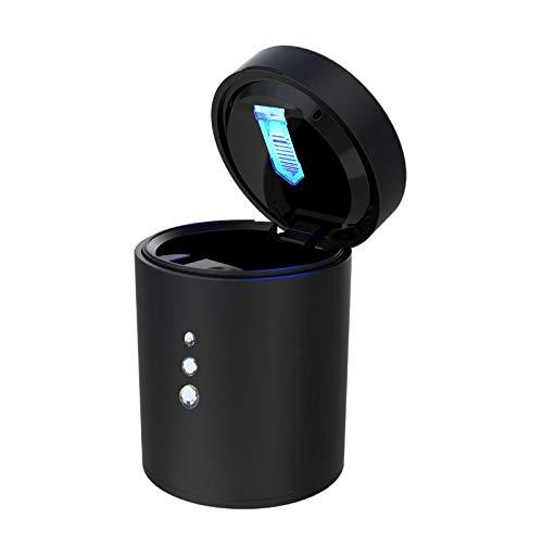 Aoile - Cenicero para coche con luz LED de viaje