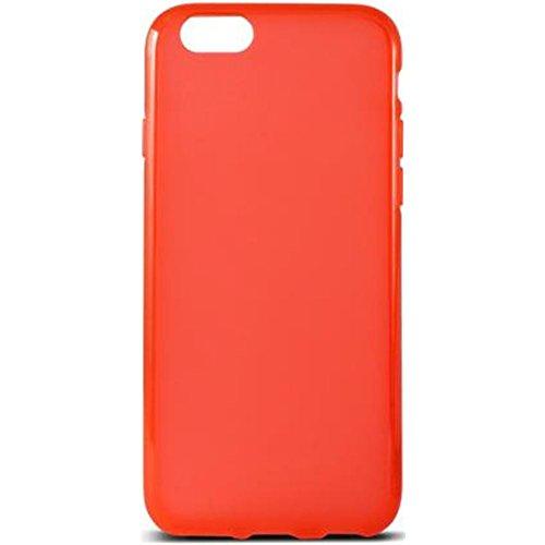 KSIX Flex Coque de protection en TPU pour Apple iPhone 6 Noir rouge