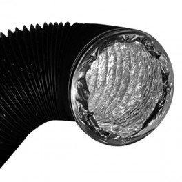 Gaine doublée - 150mm - le mètre conduit de ventilation