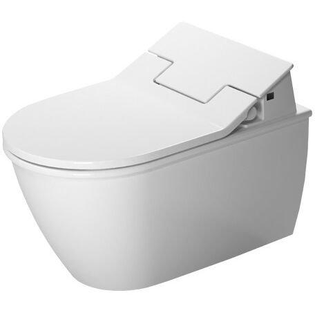 Duravit Wand-WC (ohne Deckel) Darling New 570 mm, Tief- spüler, rimless, weiß, f.SW, HygieneGlaze, 2563592000