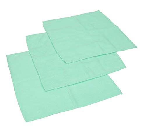 Betz Microfaser Reinigungstücher Mint 30 x 30 cm (3er-Pack)