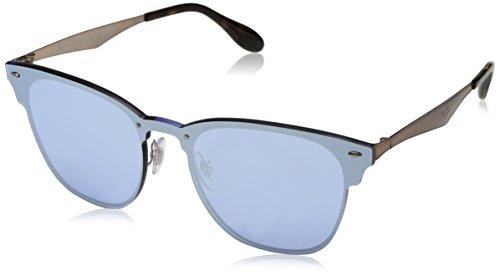 Ray-Ban RAYBAN Unisex-Erwachsene Sonnenbrille 3576n Brushed Copper/Darkvioletmirrorsilver 47