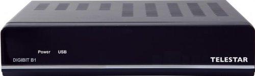 Telestar Digibit B1 Sat-IP Receiver (Full-HD, PVR-Ready, HDMI, 2X USB) schwarz