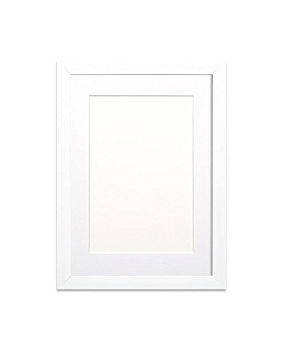 White Frame with White Mount Pho...