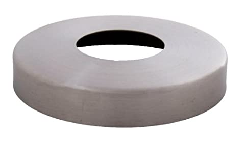 Edelstahldiscounter Acier inoxydable 38957000Rosette de couverture acier inoxydable 105/42,8mm–Hauteur env. 16mm–V2A (s012054)