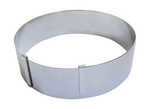 DE BUYER -3040.02 -cercle inox extensible de ø18 a 36 ht 6.5