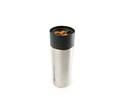 GSI Outdoors Stainless Vacuum Coffee Mug Pot, Mixte Adulte, Argent, Taille Unique