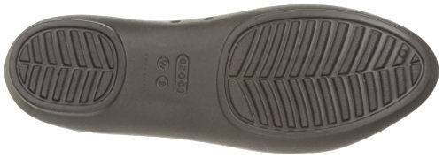 crocs Damen Lina Flat Women Geschlossene Ballerinas Brown