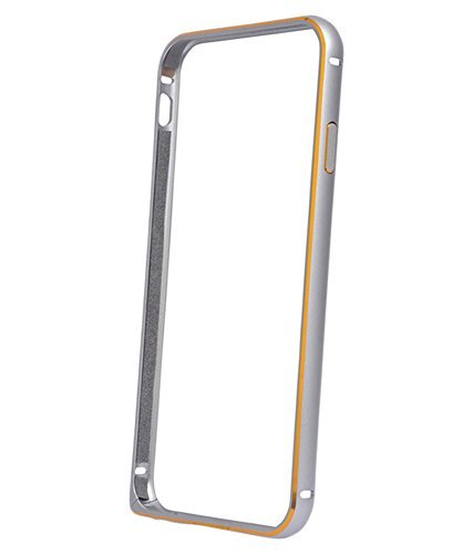 Exoic81 Bumper Cover Case For Samsung Galaxy Grand Duos (GT-I9082) - Silver  available at amazon for Rs.199