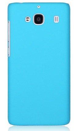 WOW Imagine(TM) Rubberised Matte Hard Case Back Cover For XIAOMI MI REDMI 2 / REDMI 2 PRIME (Sky Blue)