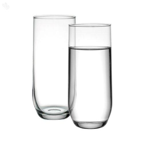 Ravenhead Tulip Sleeve of 4 Hiball Glasses, Transparent, 30 cl