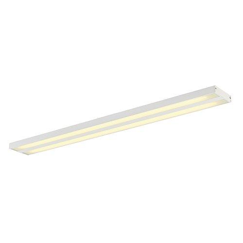 SLV KUNO Leuchte Indoor-Lampe Aluminium/Acrylglas Weiß Lampe innen, Innen-Lampe (Ist Deckenfluter Fertig)
