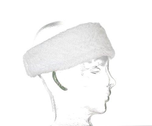 Carenesse Kosmetik Haarband, Einheitsgröße, Gummiband, 7 cm breit, 100% Baumwolle, Weiß, Haarband-Kosmetik, Stirnband Kosmetik, Haar-Band Frottee
