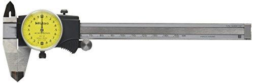 MITUTOYO 505-730 Uhrenmessschieber mit Feststellschraube, Messbereich 0 - 150 mm