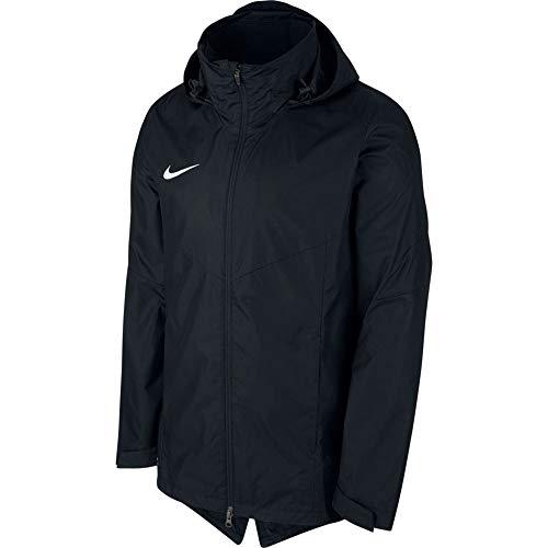 Nike Academy18 Rain Jacket Coupe-Vent Unisex-Adult, Noir/Blanc, FR : S (Taille Fabricant : S)