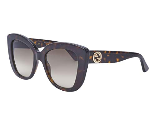 6e3cc058f95 Gucci Sonnenbrillen (GG-0327-S 002) dunkel havana - grau-braun