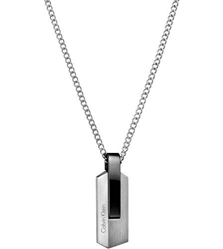 Calvin Klein Herren-Ketten mit Anhänger Edelstahl KJ4MBN210100