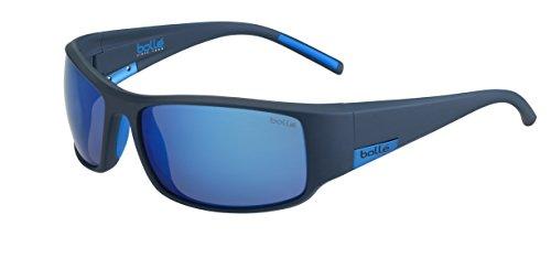 bollé Erwachsene King Sonnenbrille, Matt Mono Blue, Large