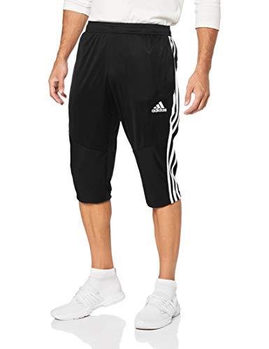 adidas Herren TIRO19 3/4 Pants, Black/White, L -