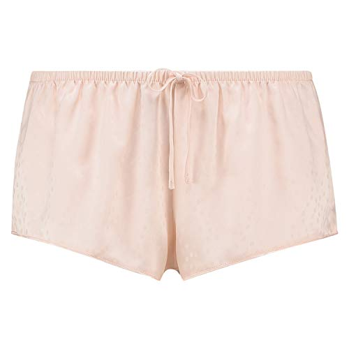Hunkemöller Damen Pyjama Shorts Satin Rose S
