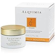 ALQVIMIA - ESSENTIALLY BEAUTIFUL Crema Nutritiva de Día para Pieles Secas, 50 ml
