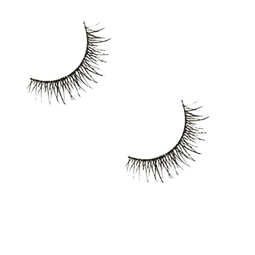 Providethebest 1 Paire 3D Femmes Fille épais Faux Cils Extension Maquillage réutilisable Super Natural Long Faux Cils