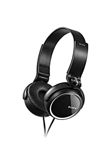 Sony Extra Bass MDR-XB250 On-Ear Headphones (Black)