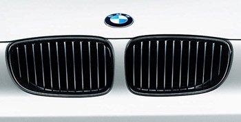 Original BMW Frontziergitter Set Performance schwarz für 3er E90 E91 - ab 09/2008
